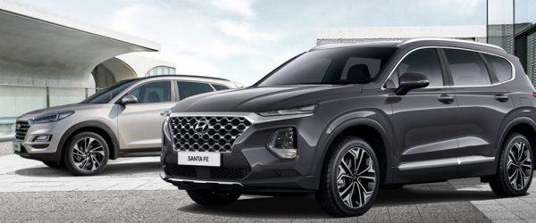 Hyundai Santa Fe и Tucson 2018 года со скидками до 120.000₽