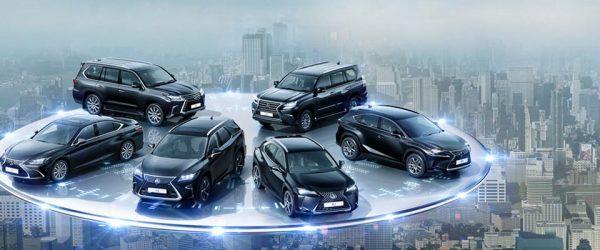 Особая серия Lexus «в черном» — скидки до 350.000₽