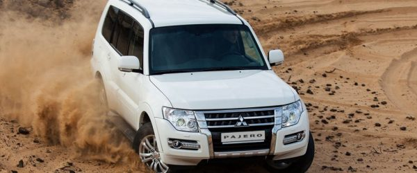 Акция на внедорожник Mitsubishi Pajero — выгода до 300.000₽