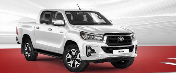 Скидки на внедорожник Toyota Hilux — выгода до 100.000₽