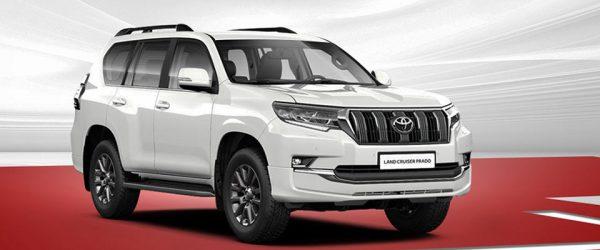 Акция на Toyota Land Cruiser Prado — выгода до 300.000₽