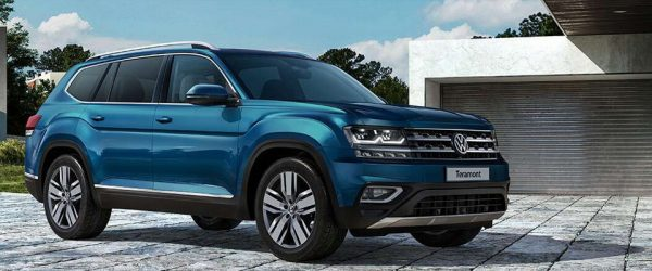 Скидки на кроссовер Volkswagen Teramont — выгода до 500.000₽