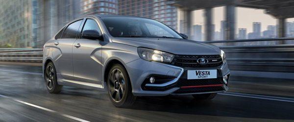Акция на автомобиль LADA Vesta Sport — выгода до 179.890₽