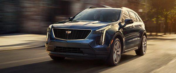 Специальное предложение на новый кроссовер Cadillac XT4